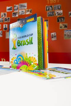 Panini-Album zur FIFA WM 2014