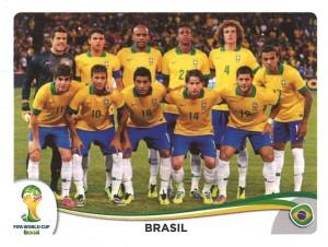 Wird Brasilien Fußball- und Panini-Weltmeister? (Foto: Panini)
