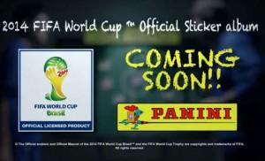 Wann kommt das Panini Album zur WM 2014?