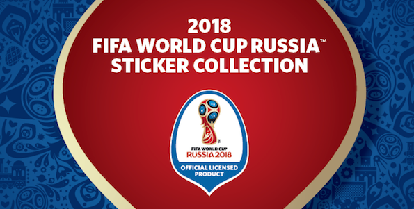 panini sticker sujet 2018